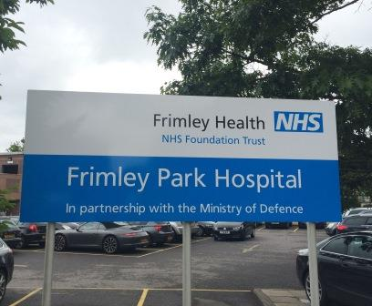 Frimley Health NHS Foundation Trust sign
